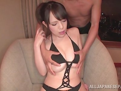 Handsome Japanese model Koyomi Yukihira gets fucked by a lucky guy