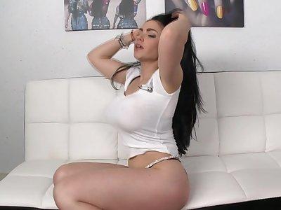 Marta La Croft with her big tits and big ass