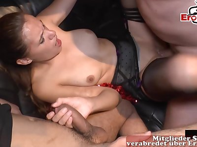old man creampie milf gangbang party