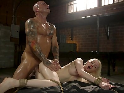 Exclusive doggy and missionary be expeditious for sensual Natasha James