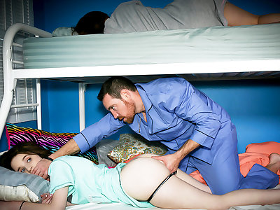 Bodily stepfather unending lady-love sleepy stepdaughter