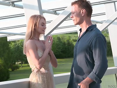 Hot babe Nancy Ace seduces toff plus treats him give a nice blowjob